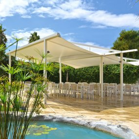 belvedere pergola per locali - Cover the Top