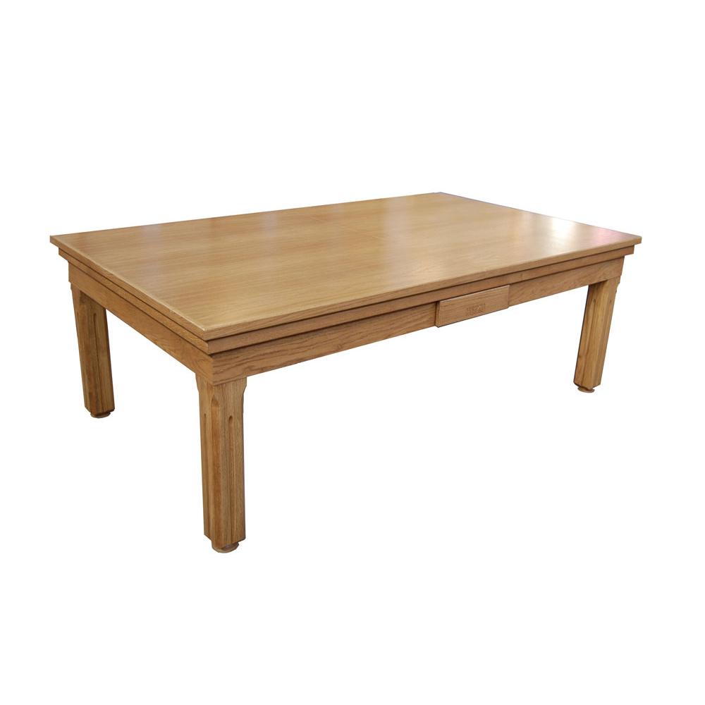 Tavolo da biliardo in rovere massello charleston con panno - Misure tavolo da biliardo ...
