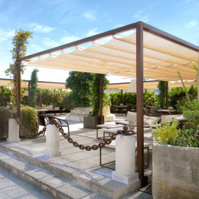 pergola beach coverthe top