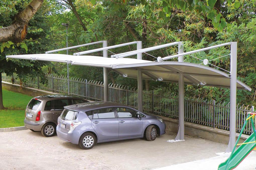 Coperture mobili e tettoie per auto i vantaggi cover for Coperture in legno per auto usate