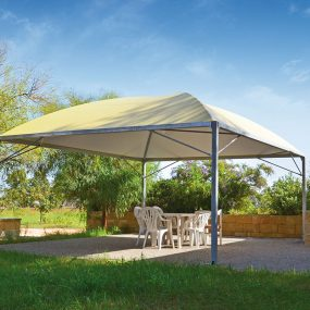 copertura auto gazebo cicogna minimax cover the top