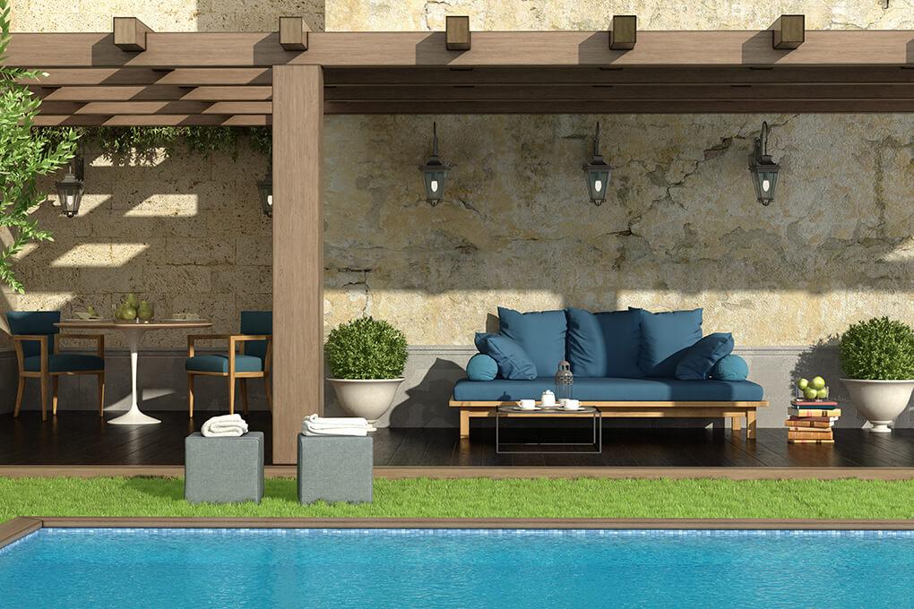 Quale tessuto scegliere per l arredamento outdoor cover for Arredamento outdoor
